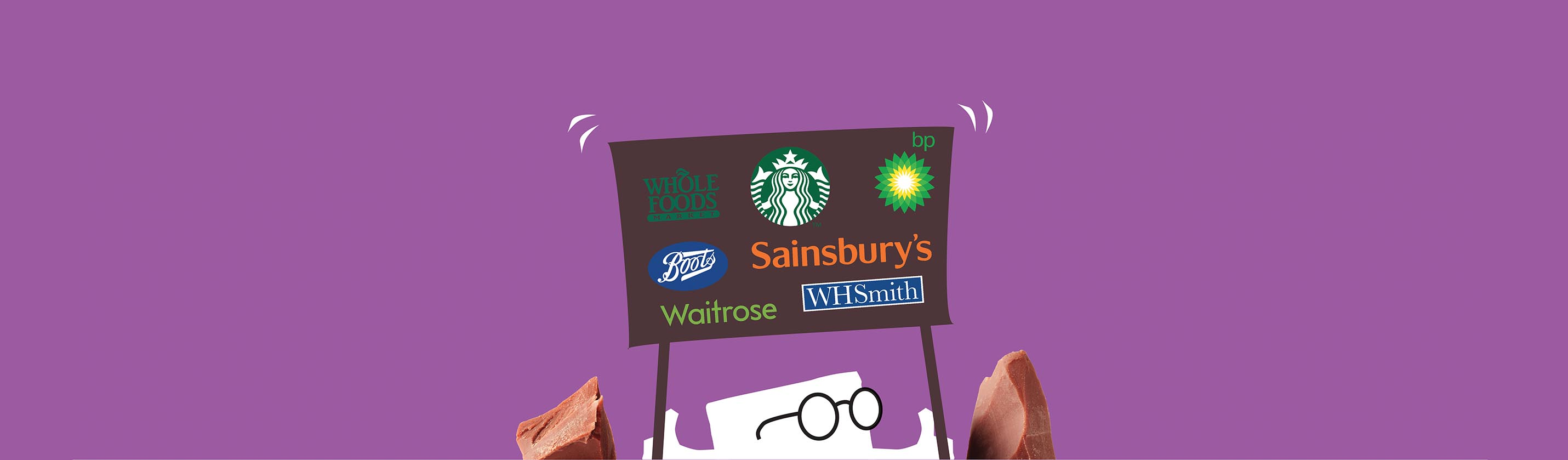 UK stockists of mallow and marsh bars and pouches includes - sainsburys, boots, waitrose, BP and many more