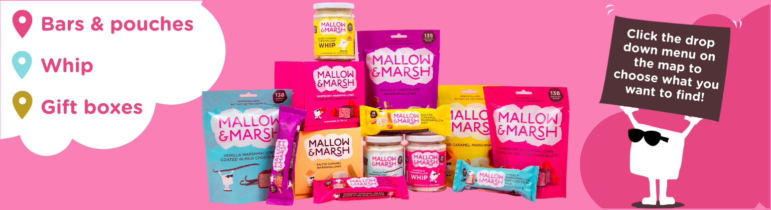 mallow and marsh stockist finder